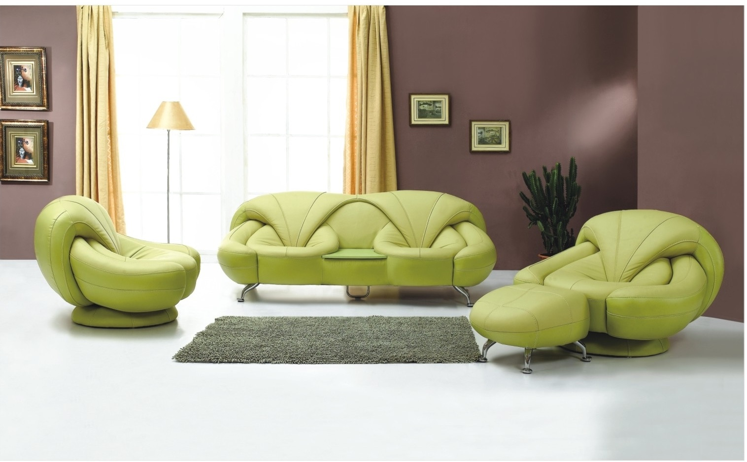 Contemporary furniture adapts latest trending elements