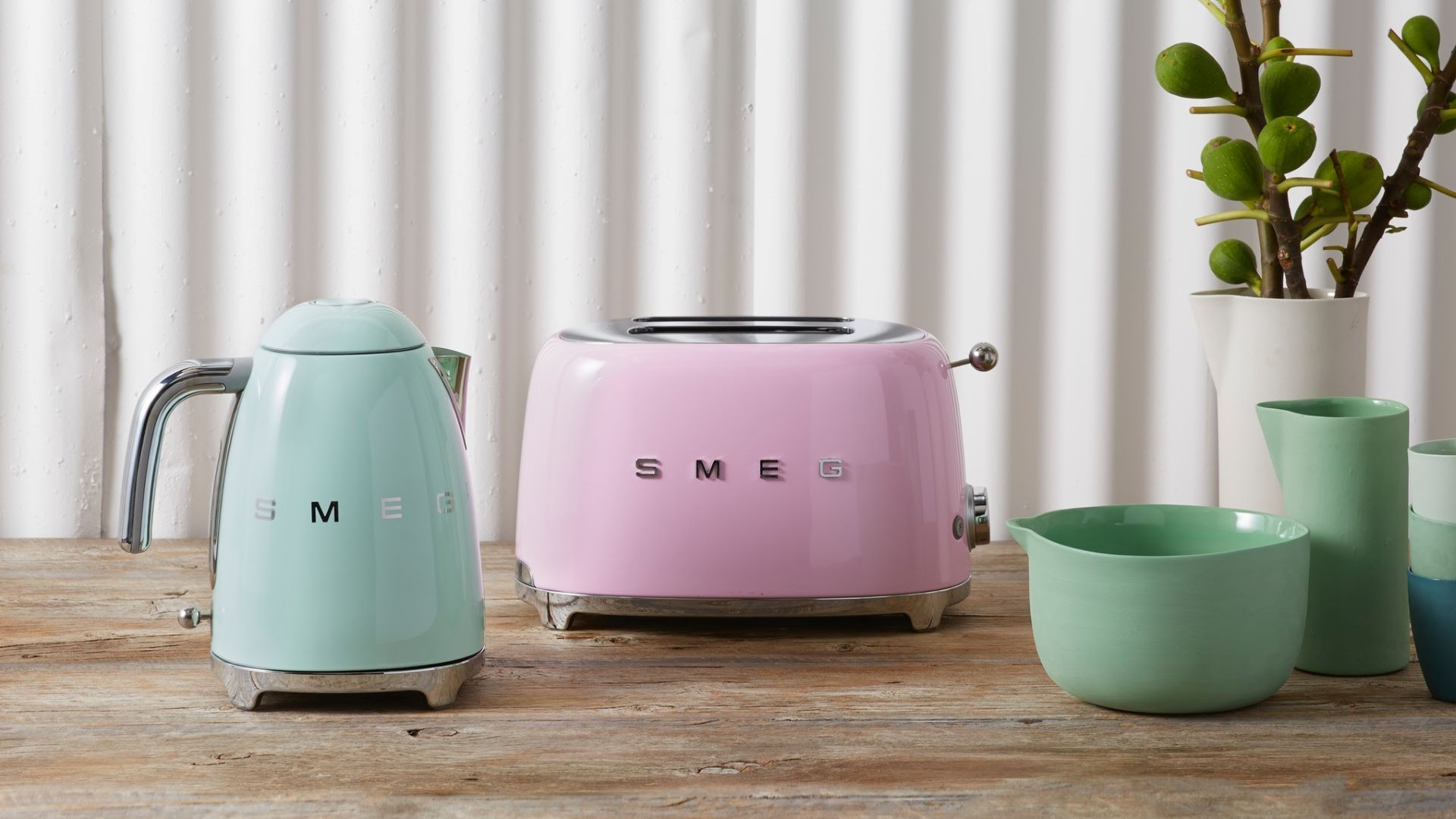 SMEG as one of the iconic retro appliances during the 60s