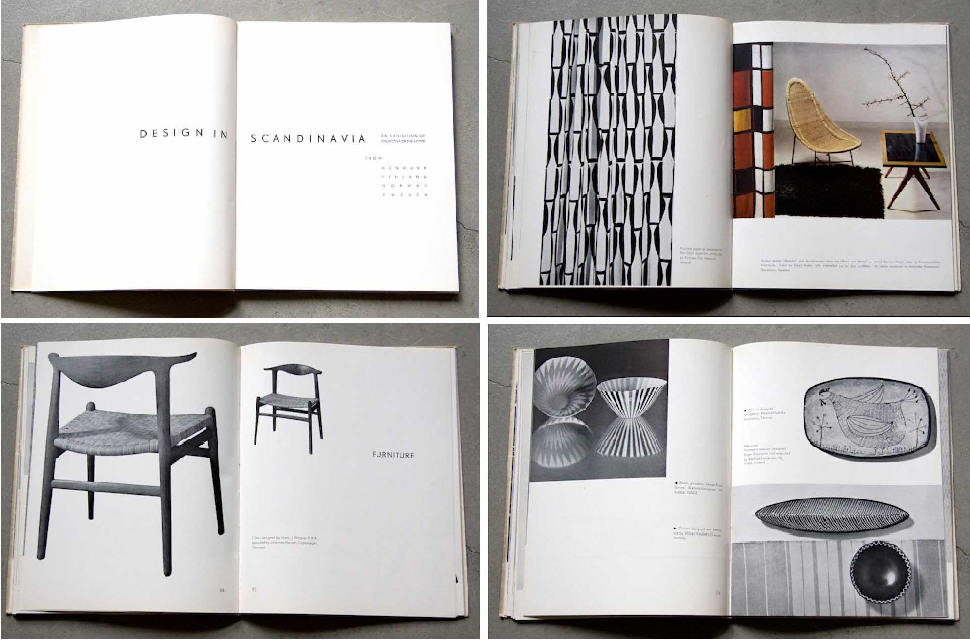 Nordic designs originated from Scandinavia's design magazine